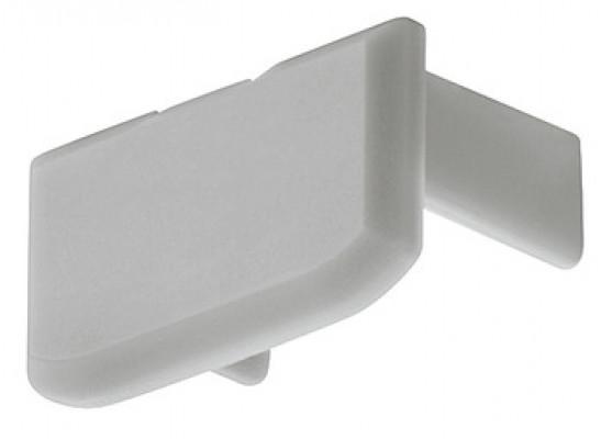 End caps, for aluminum profiles, rectangular end cap to suit HA.833.74.740