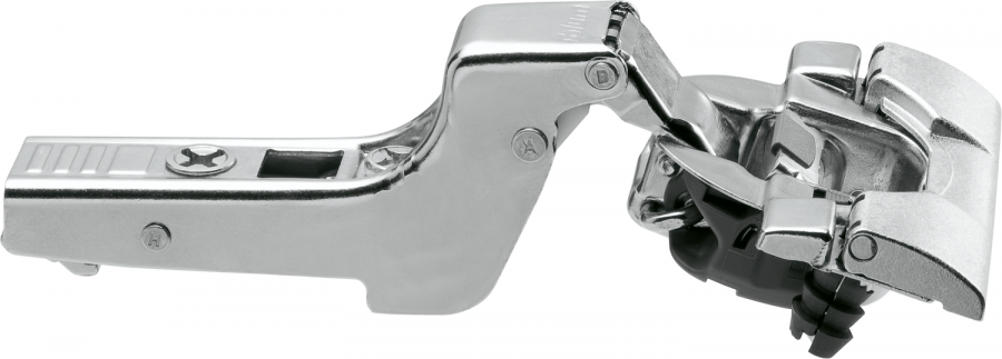 CLIP top BLUMOTION hinge 110°, INSET applications, boss: INSERTA, NP