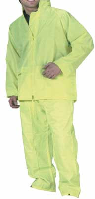 Protective clothing, complete suit, lightweight, Hi Vis, beseen, size M