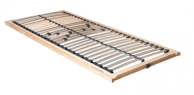 Slatted frame, KF sandbasic, adjustable head & foot sections, frame 890 mm, width 1960 mm