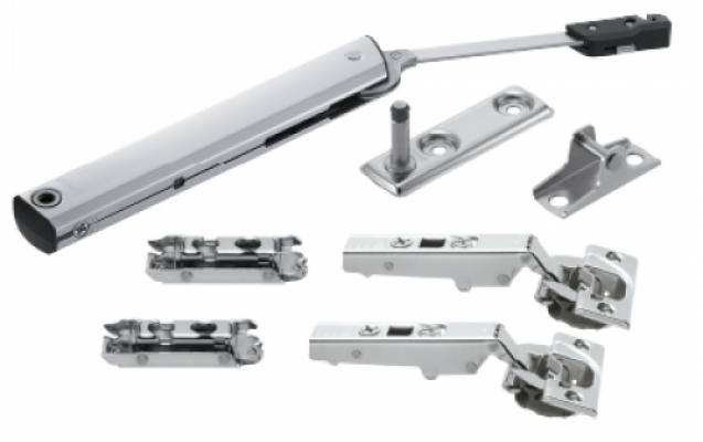 AVENTOS HK-XS stay lift mechanism, PF=200-1000 (one-sided lift mechanism), for TIP-ON