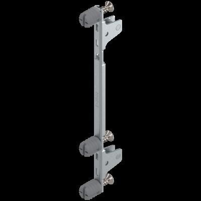LEGRABOX front fixing bracket, height C (177 mm), EXPANDO, symmetrical