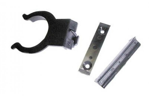 Plinth clip, 38 mm, black