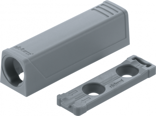 TIP-ON In-line adapter,short version, grey