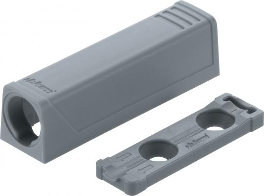 TIP-ON In-line adapter,short version, grey