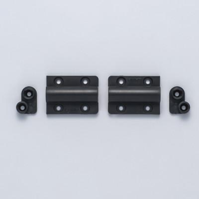 Mini damper hinge, black