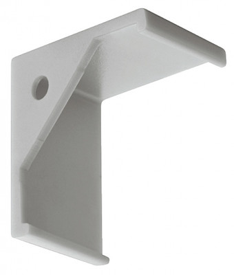 Bracket, to suit aluminium profile for HA.833.74.812, silver