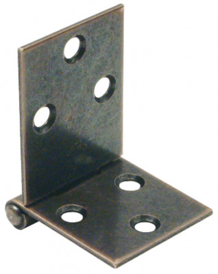 Table hinge, 78x31 mm, for table flaps or cabinet door front flaps, zinc-plated
