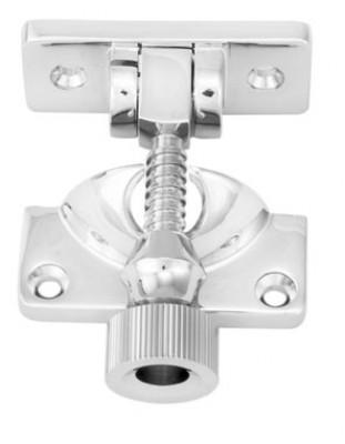Sash fastener (brighton pattern), architectural, satin chrome