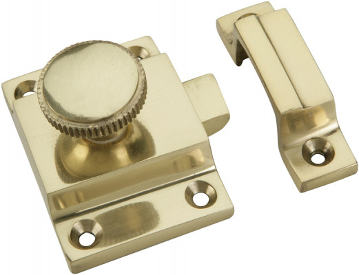 Window/door catch, for window shutters, polished