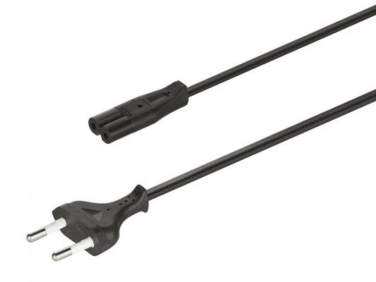 LED mains lead, for use with loox drivers, european plug, length 2000 mm