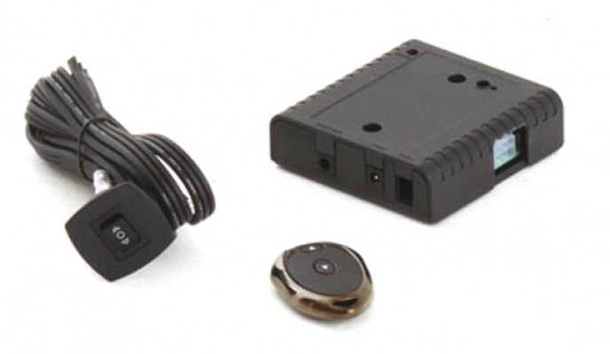 Spare remote rf system, type a, for 421.68.422, 421.68.423 & 421.68.471 , black