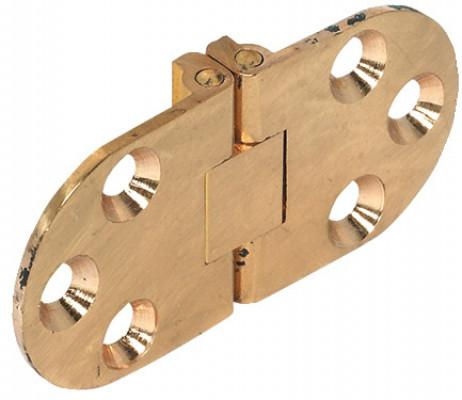Table hinge, self supporting, folding, matt