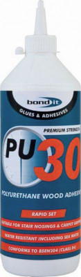 Wood adhesive, pu timber, water resistant, 750 g, pu, size 750g