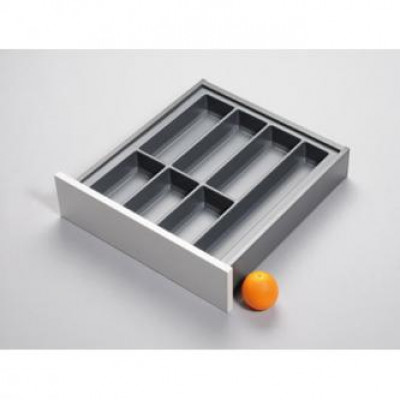 Cutlery divider for LEGRABOX/TA'OR, C=500 mm, NL=500 mm, anthracite