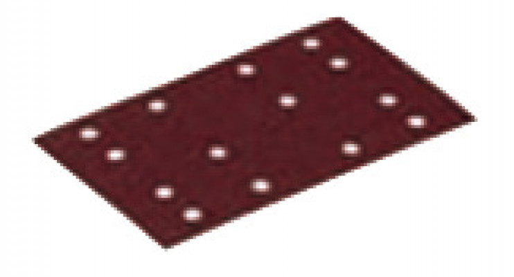 Sanding paper, 80x133 mm, Festool Stickfix STF, grit 180