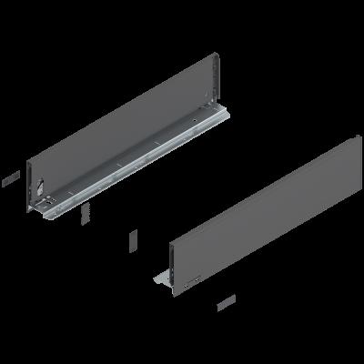 LEGRABOX drawer side 'K' grey