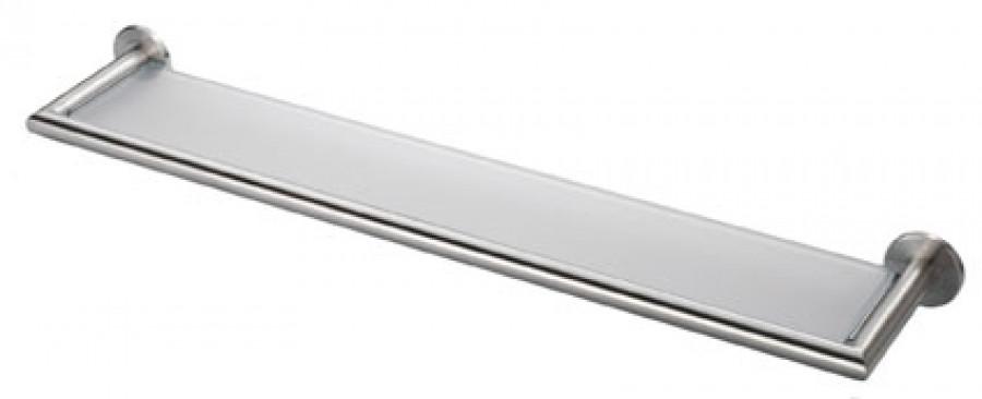 Deleau Stainless Steel Glass Shelf 575 mm