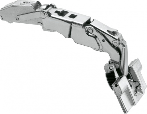 CLIP top wide angle hinge for zero protrusion 155°, OVERLAY, unsprung, boss: INSERTA, NP