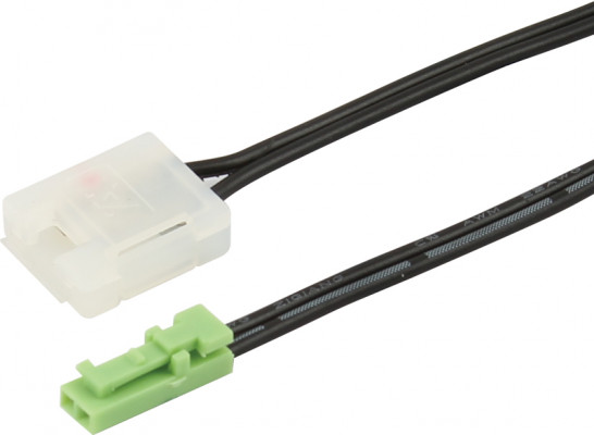 Led connectors, for use 24 v loox led 3013/3015, 3013/3015 connecting lead, length 2000 mm