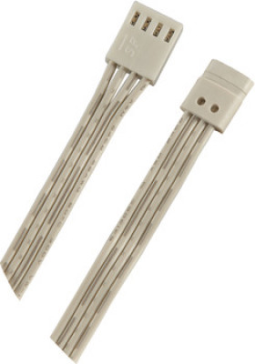 LED interconnecting leads, for connecting RGB strip lights to colour mixer, length 2500 mm