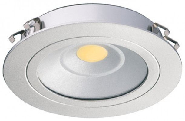 LED downlight 24V/3.25, ø65 mm, IP20, Loox LED 3010, warm white 3000 K