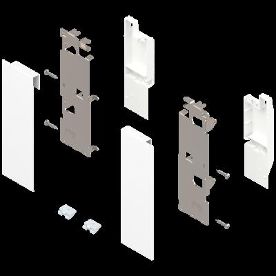 LEGRABOX, inner front fixing bracket, height C (177 mm), left+right, White
