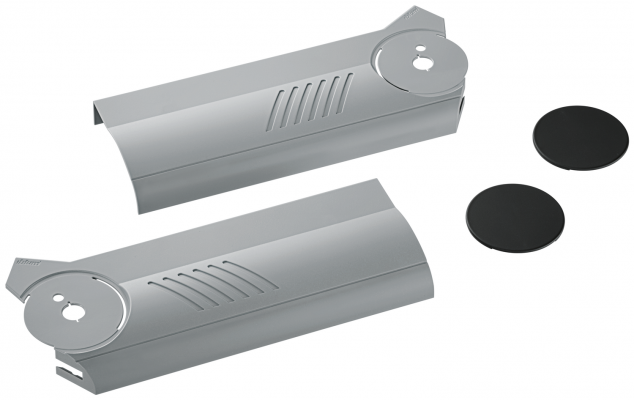 AVENTOS HF bi-fold lift system, cover cap set, left+right