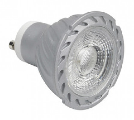 LED lamp, COB, 240V/4W, GU10, warm white 3000k