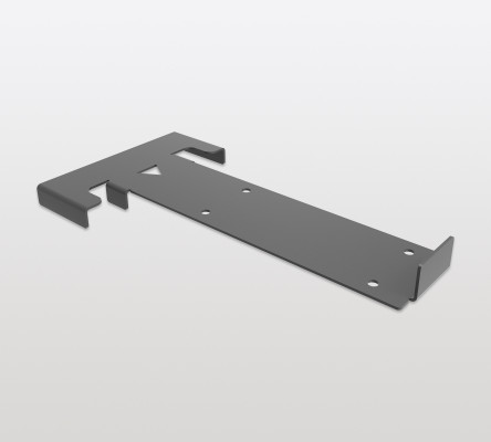 Installation jig for PECASA for glueing glass shelves to supports, PEKA, silver