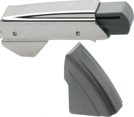BLUMOTION clip-on for angled +30° hinge, nickel