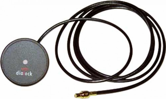 External antenna, rated ip67, dfant 2, dialock, lead length 3 m
