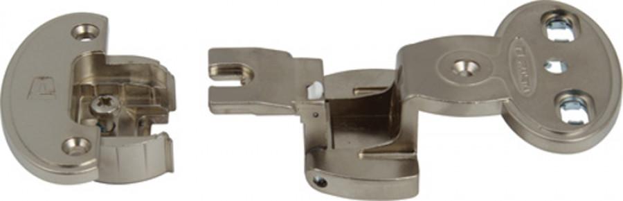 Exposed axle hinge arm, 270ø single pivot, screw fixing, aximat 300, order hinge arm