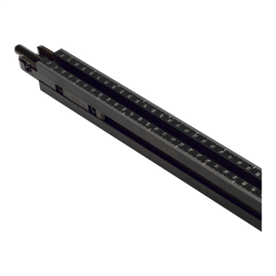 Basic ruler, 1 piece calibration 850-850 mm, left+right
