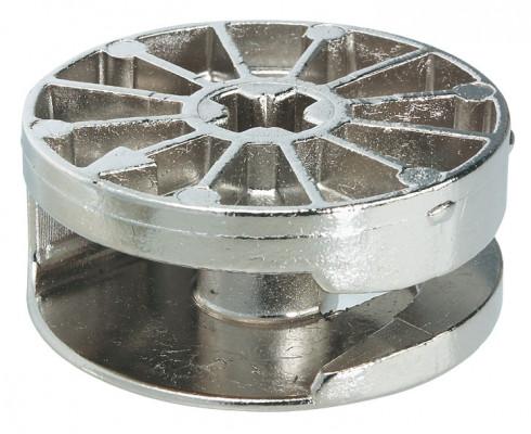 Maxifix universal connectors, zinc alloy, PZ3, nickel