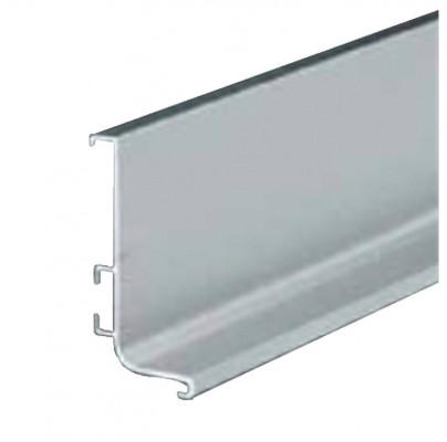 Profile handle, fixing between worktop/door/drawer, Gola system B plus, L=4.1 m, brass