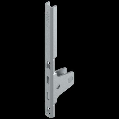 LEGRABOX front fixing bracket, height K (128 mm), SCREW-ON, symmetrical