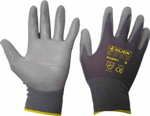 Gloves, PU coated, size L