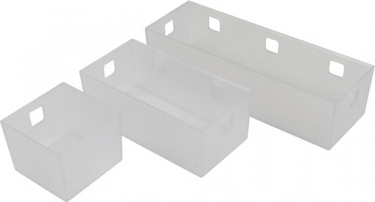 Storage system for under sink drawers, storage tray, ninka banio, 65x85x84 mm
