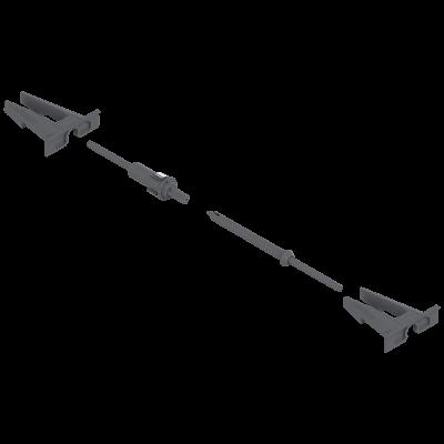 MOVENTO TIP-ON locking device & adapter, nylon/steel