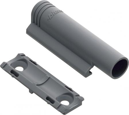 In-line BLUMOTION adapter, nylon, grey