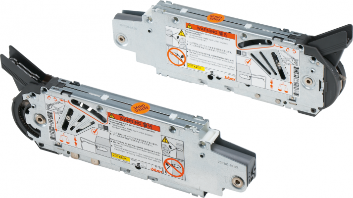 AVENTOS HF bi-fold lift system (set), PF=9000-17250 (2 pieces), Also Used for SERVO-DRIVE