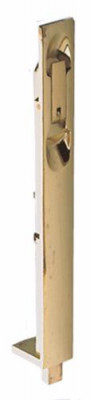 Flush Bolt Lever Action Brass 229X25mm