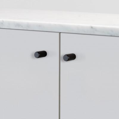 Furniture knob, linear