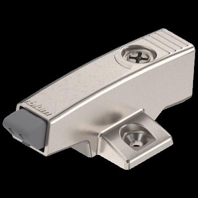 BLUMOTION adapter plate, cruciform (37/32), nickel
