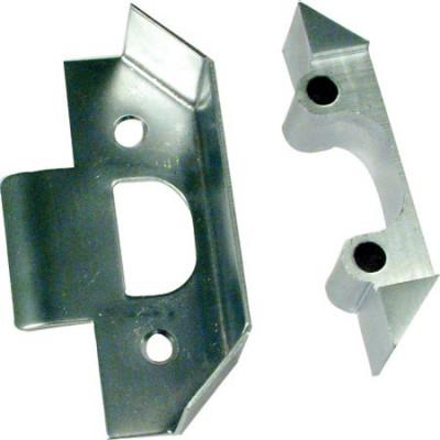 Rebate set, for digital lock, for simplex 5000/1000 & unican 7000, steel, dim. a 13 mm