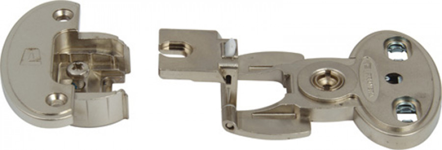 Exposed axle hinge arm, 180ø single pivot, screw fixing, aximat 300, hinge arm