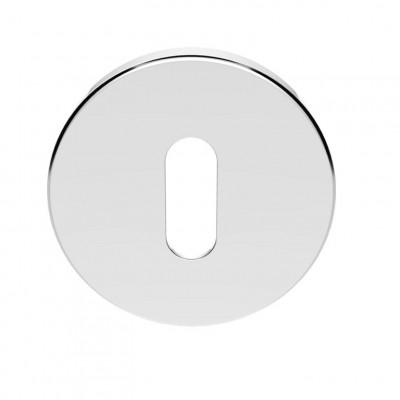Standard key Escutcheon in polished chrome