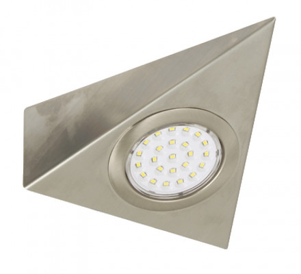 LED downlight 12V, IP20, Loox wedge downlight, single triangular, daylight white 6000 K
