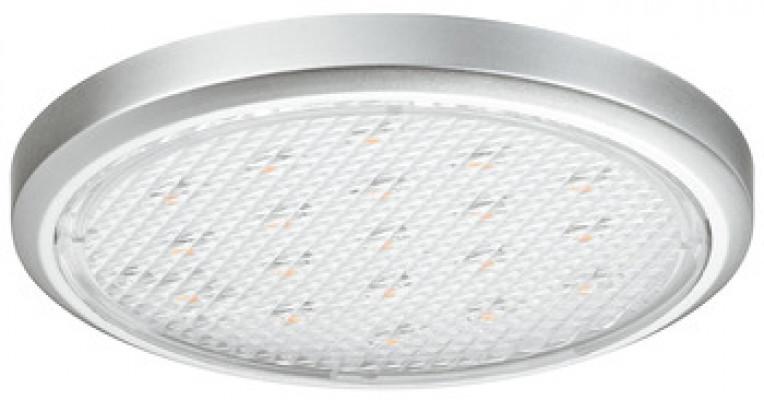 LED extremely flat downlight 12V/1.5W, Ø 58 mm, IP20, Loox LED 2002, cool white 5000 K
